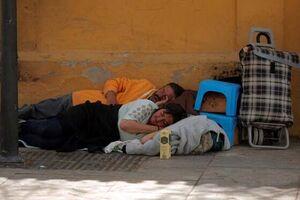 اگر ماشین نداشتیم باید زیر درخت میخوابیدیم! +فیلم