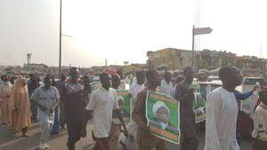 تظاهرات هوداران شیخ زکزاکی در پایتخت نیجریه +عکس
