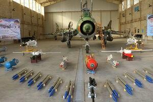 ۷ نوع سلاح هدایت شونده هوا به زمین برای «سوخو ۲۲» سپاه/ رونمایی از بمب خاص «فیتر» با قابلیت هدایت دقیق تا هدف +عکس