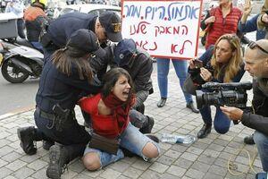 سکوت خبری در مقابل خشونت علیه زنان در اسراییل +عکس