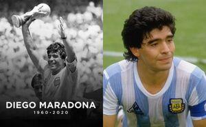 دیگو مارادونا درگذشت +فیلم