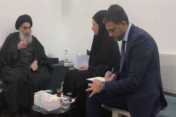 تاکید آیتالله سیستانی بر اهمیت برگزاری انتخابات آزاد