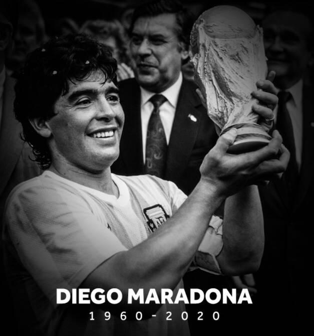 فدراسیون فوتبال آرژانتین درگذشت مارادونا راتایید کرد