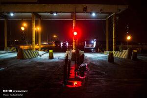 عکس/محدودیت تردد شبانه در قزوین