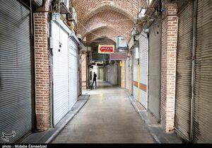 عکس/ سکوت کرونایی در بازار تاریخی ارومیه