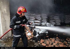 عکس/ آتش سوزی در ارومیه