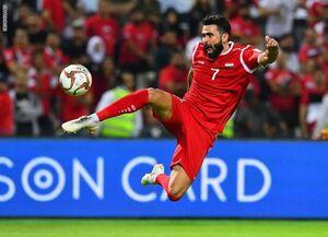 محرومیت مادام العمر مهاجم نامدار سوریه از حضور در تیم ملی