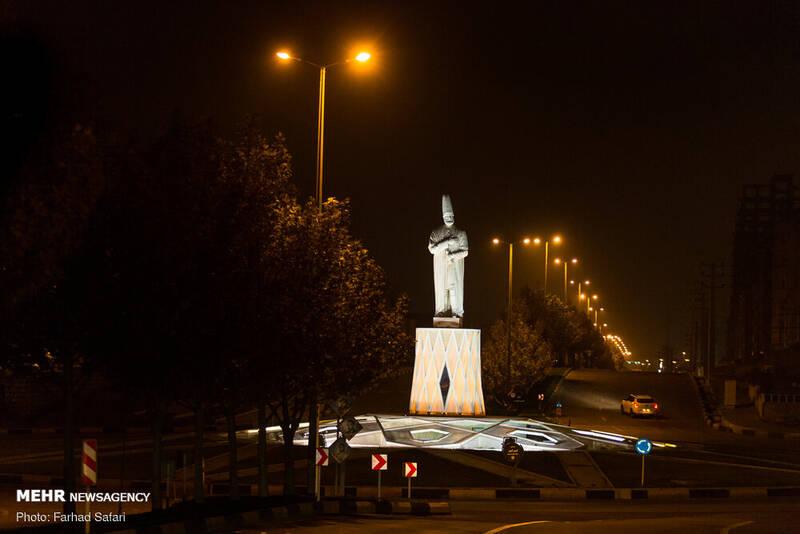 محدودیت تردد شبانه در سطح شهر قزوین