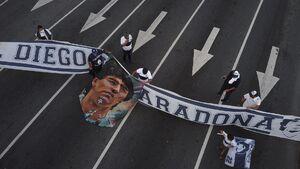 عکس/ مارادونا به خاک سپرده شد