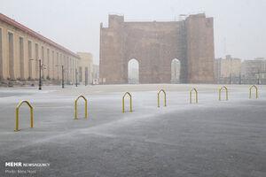 بارش برف و باران در اغلب استانها/ تهران برفی میشود