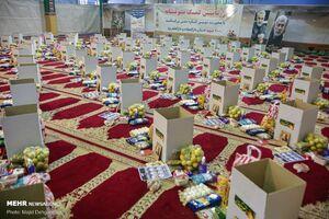 عکس/ سنگ تمام بسیجیان در طرح کمک مومنانه