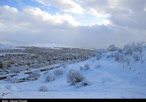 بارش یکمتری برف در کردستان/تداوم بارشها تا روز دوشنبه هفته آینده/احتمال آبگرفتگی معابر و سیلاب