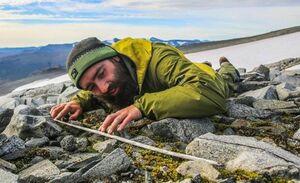 کشف آثار تاریخی بر اثر ذوب شدن یخ