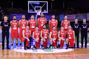 عربستان اولین حریف بسکتبال ایران در پنجره دوم