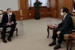 دیدار وزیر خارجه تاجیکستان با نخست وزیر کره جنوبی در «سئول» - کراپشده