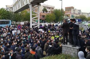 عکس/ تجمع در اعتراض به ترور شهید محسن فخری زاده در تهران