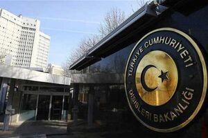 وزارت خارجه ترکیه ترور شهید «محسن فخری زاده» را محکوم کرد