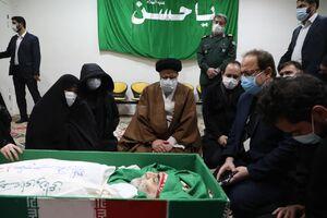 عکس/ وداع با شهید فخری زاده در معراج شهدا