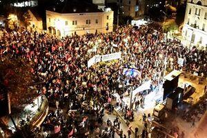 هزاران صهیونیست علیه نتانیاهو به خیابانها آمدند