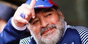 اقدام خاص باشگاه لاتزیو برای ادای احترام به مارادونا+عکس