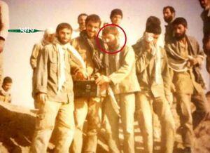 عکس/ شهید فخری زاده در دوران دفاع مقدس