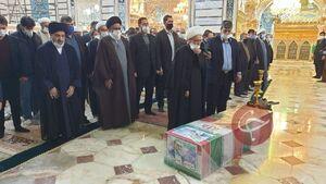 عکس/ نماز بر پیکر شهید فخری زاده در قم