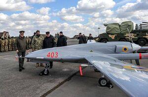 اوکراین به دنبال افزایش خرید پهپاد ترک+عکس