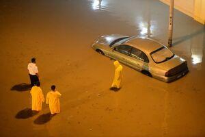 عکس/ کویت را آب برد