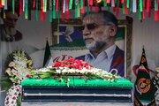عکس/ مراسم تشییع پیکر شهید فخری زاده در تهران