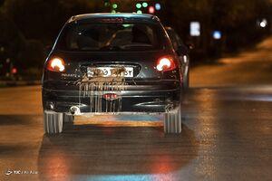 عکس/ مخدوش کردن پلاک در زمان طرح محدودیت تردد