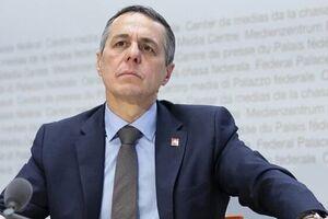 وزیر خارجه سوئیس