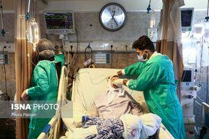 عکس/ وضعیت کرونا در بیمارستان شهیدبهشتی همدان