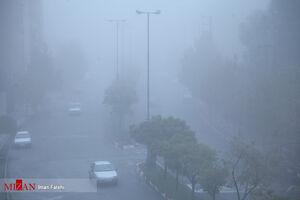 سنندج در مه