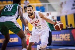 شکست تیم ملی بسکتبال ایران برابر سوریه