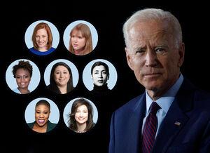 آشنایی با زنان تیم مطبوعاتی «جو بایدن» / ارتباط معاون سخنگوی بایدن با جورج سوروس +عکس و فیلم