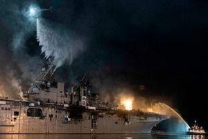نیروی دریایی آمریکا ناو حادثهدیده «بونهام» را از رده خارج میکند