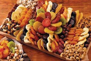ارتباط مصرف میوههای خشک با سلامت بهتر