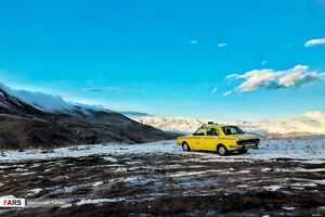عکس/ رخت سفید بر تن ارتفاعات البرز