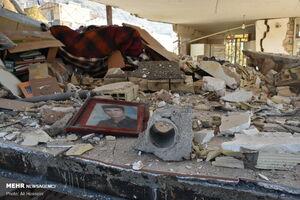 عکس/ انفجار منزل مسکونی در خرمآباد
