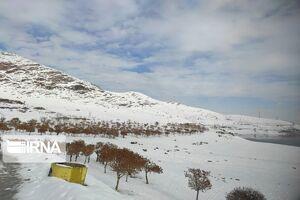 عکس/ تقابل پاییز و زمستان در مهاباد