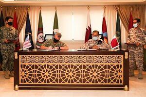 امضای توافقنامه نظامی میان دوحه و واشنگتن