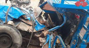 کودک ۸ ساله قمی قربانی تصادف با نیسان آبی