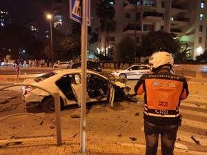 فیلم/ انفجار خودروی بمب گذاری شده در تل آویو!