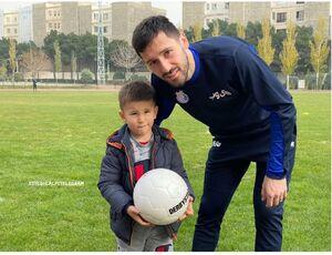 گزارش تمرین استقلال|گفت و گوی فکری با رضاوند و غیبت مصدومان/ میلیچ با فرزندش آمد+تصاویر