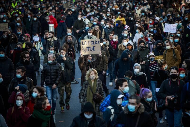 تحولات فرانسه؛ تداوم خشونت پلیس و چرخش شرم آور دولت زیر فشار اعتراض و انتقاد