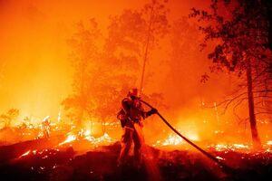 عکس/ آغاز آتش سوزیها در کالیفرنیا