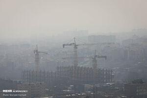 هوای تهران برای گروه های حساس آلوده است
