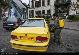 عکس/ ضدعفونی خودروهای عمومی گرگان