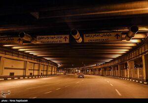 عکس/ مشهد در طرح منع تردد شبانه