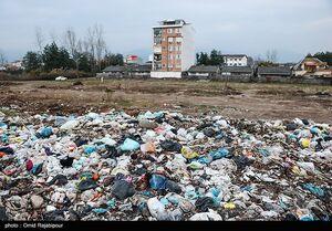 عکس/ حجم زیاد زباله در ساحل خزر
